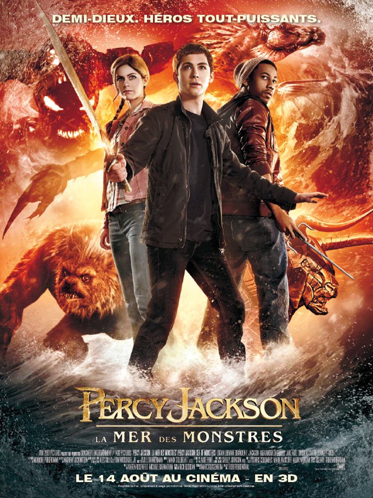 affiche percy jackson 2