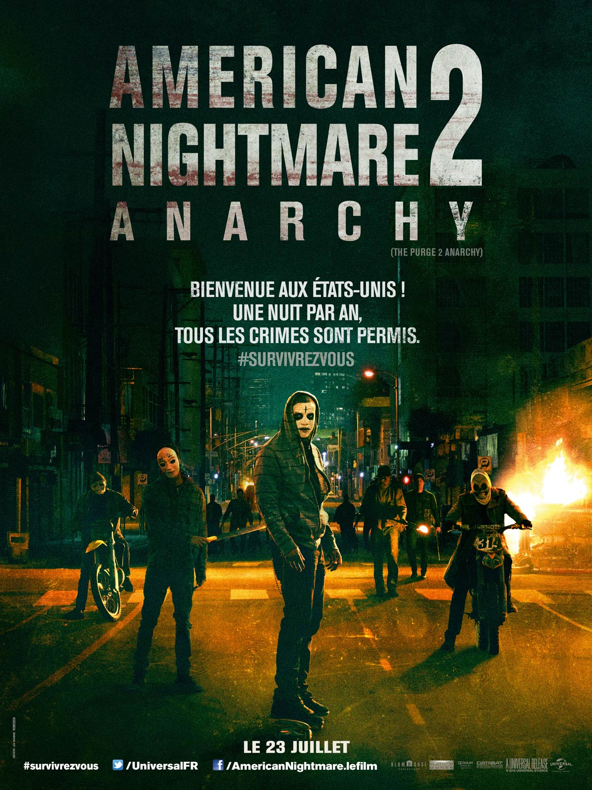 Affiche American Nightmare 2