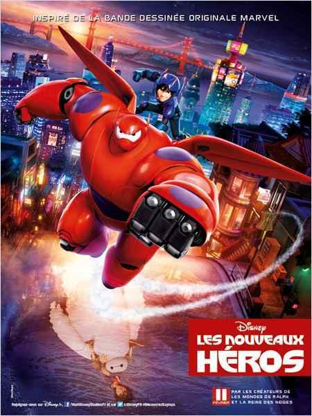 Affiche Big Hero 6