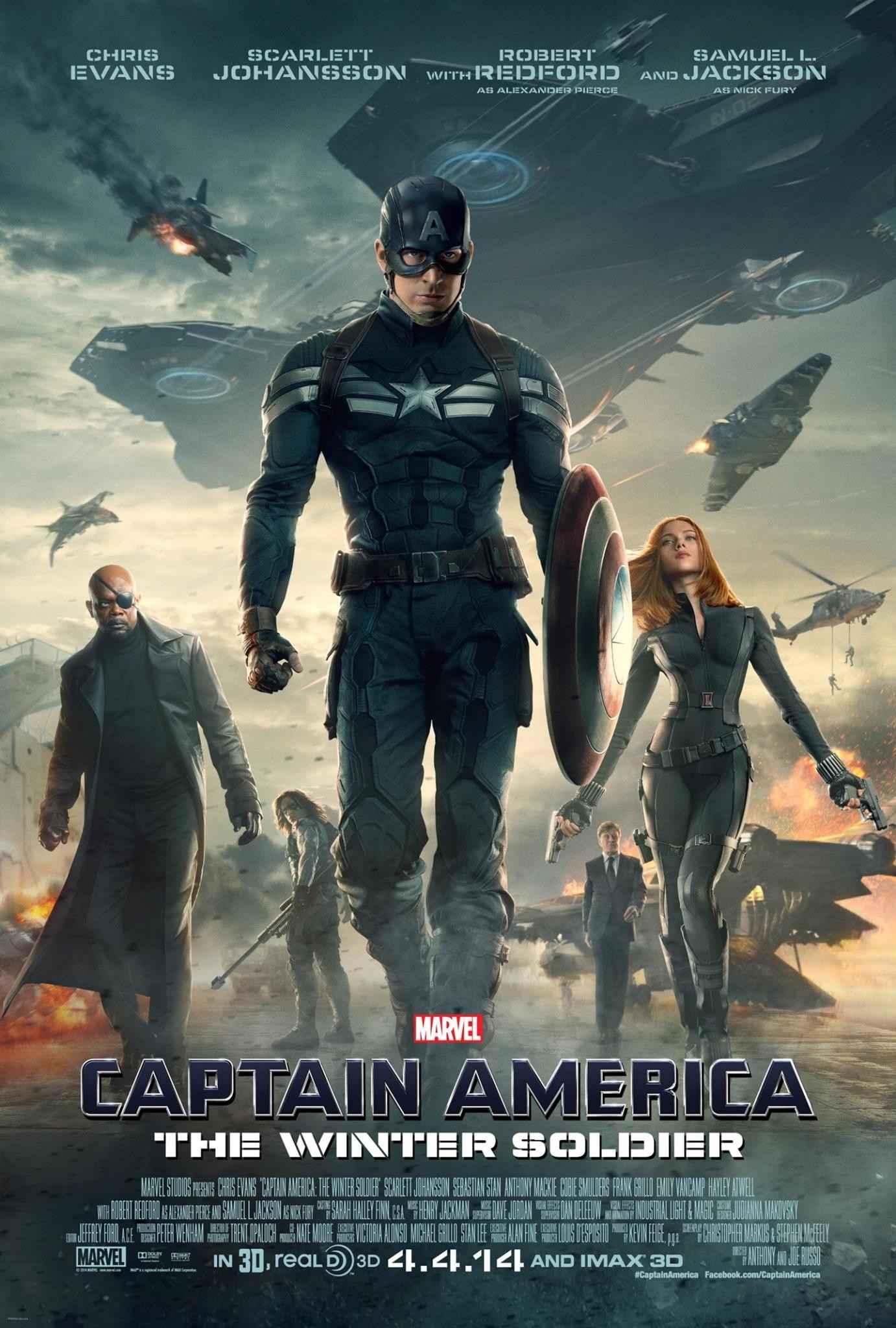 Affiche Captain America 2