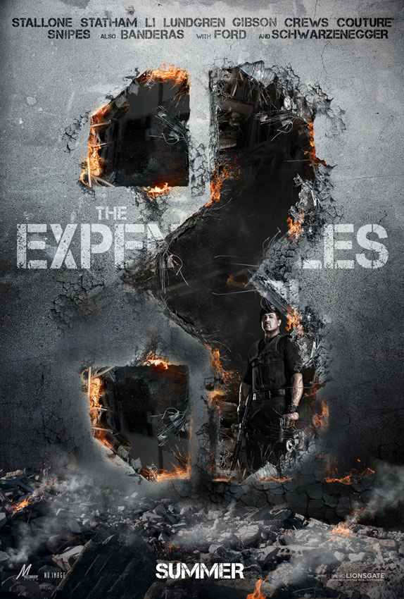 Affiche The Expendables 3