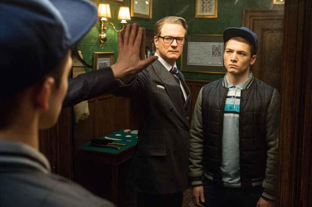 Colin Firth + Taron Edgerton