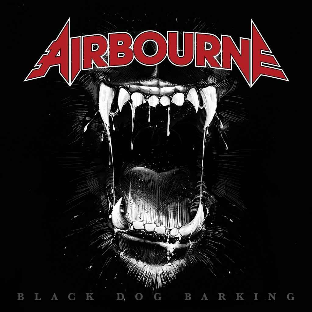 Airbourne Black Dog Barking Promo Cover Pic