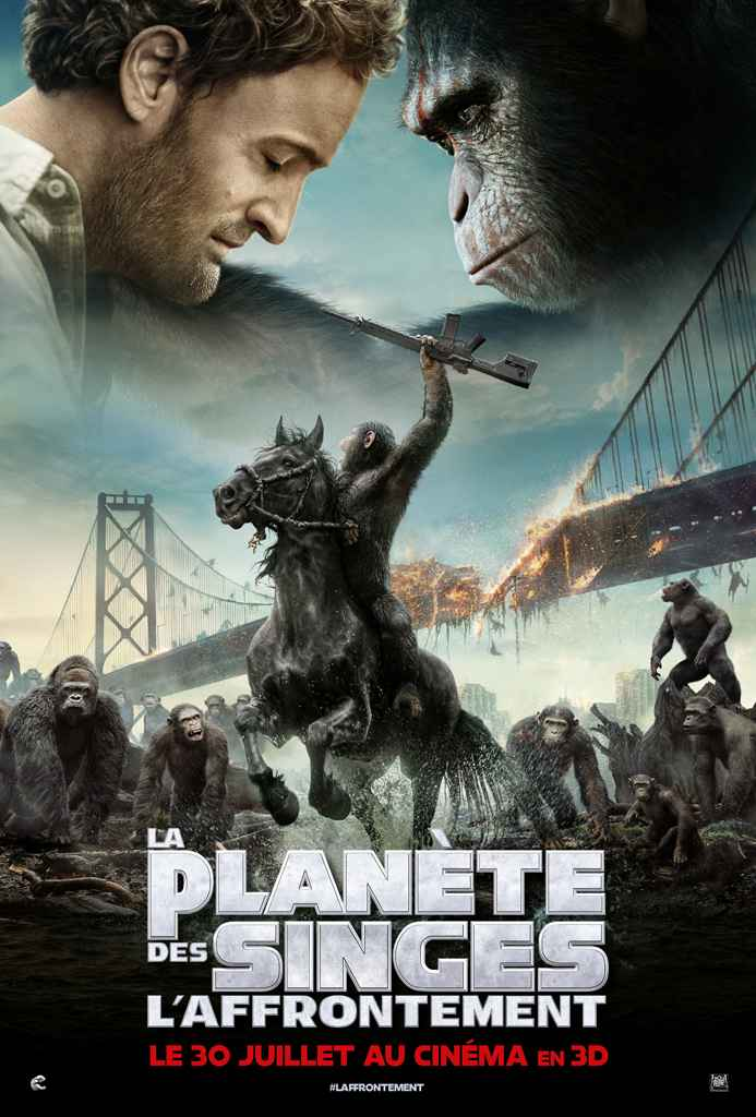 Affiche Dawn Of The Planet Of The Apes