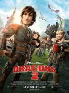 Affiche Dragons 2